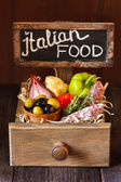 Italian food. — Stock Photo