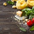 Italian food ingredients. — Stock Photo #50300613