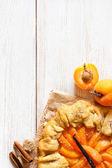 Apricot pie. — Stock Photo