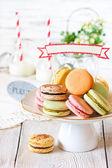 Macarons. — Stock Photo