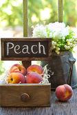 Peaches. — Stock Photo