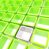 Abstract background of colorful cube cell composition — Stock Photo