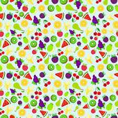 Patrón de colores brillante textura de fondo de la fruta — Foto de Stock