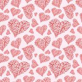 """Herz nahtlose Hintergrund von Hand geschriebene Worte """"Ich liebe dich"""" — Stockfoto"""