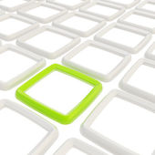 Abstract background of square elements on white — Stock Photo