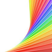 Copyspace background of rainbow colored composition — Stock Photo