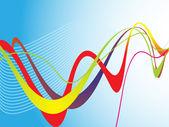 Abstract blue web — Stock Vector