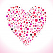 Royalty-Free Stock Vector Image: Abstract dotted heart