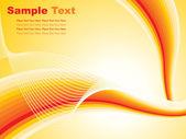 抽象深黄色背景 — 图库矢量图片