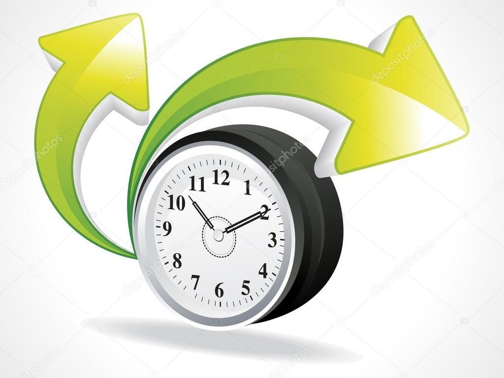 抽象时钟与箭头矢量图