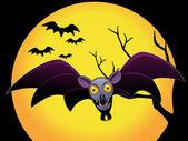 Fondo de pantalla abstracto de halloween — Vector de stock