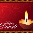 Stock Vector: Diwali background