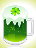 St green beer — Stock Vector