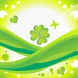 Abstract st patrics background - Stock Vector