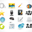 Abstract web icon set — Stock Vector #19059285