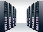 Server station — Stock Vector