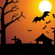 Abstract halloween wallpaper — Stock Vector #21175949