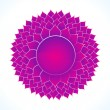 Royalty-Free Stock Vector Image: Detailed crown chakra