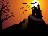 Abstract halloween wallpaper — Vettoriale Stock