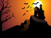 Abstrato papel de parede halloween — Vetorial Stock