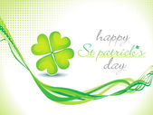 Abstract st patrick theme background — Stock Vector