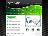 Abstracte digitale corporate id — Stockvector