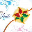Royalty-Free Stock Vector Image: Abstract raksha bandhan wallpaper