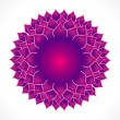 Detailed crown chakra — Stock Vector #23870581
