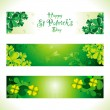 Abstract st patrick web banner — Stock Vector #24256687