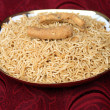 Indian potato namkeen snacks - Stock Photo