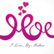 Abstract mother&#039;s day background - Stock Photo
