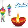 Abstract diwali background — Stock Vector #33499061