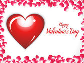 Abstract valentine background — Vettoriale Stock