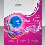 Abstract disco club flyer — Stock Vector #43501477
