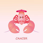 Astrological symbol of Cancer — Wektor stockowy