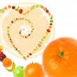 Stock Photo: Fruit love