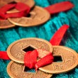 Stock Photo: Chinese lucky coins