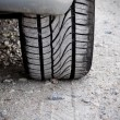 Car Tire — Stock Photo #12648138