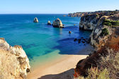 Playa en algarve — Foto de Stock
