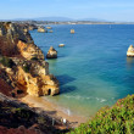 Beach in Algarve, Portugal — Stock Photo