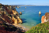 Beach in Algarve, Portugal — Foto de Stock
