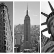 Stock Photo: New York Black and White Triptych