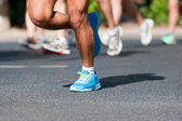 Marathon racer — Stockfoto