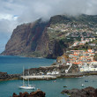 Camara de Lobos in Madeira Island - Stock Photo