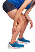Pain in the Leg — Stock Photo