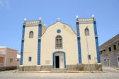 Santa Isabel Church in Sal Rei, Boa Vista, Cabo Verde — Stock Photo