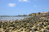 Sal Rei Harbour, Boa Vista, Cape Verde — Stock Photo