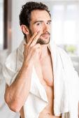 Male Skin Care — Stock Photo