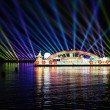 Stock Photo: Boat parade Floria Event at Putrajaya
