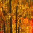 Abstract Autumn Leaves Reflection — Stock Photo